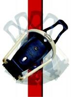 Košík na lahev Alu s otočným klipem